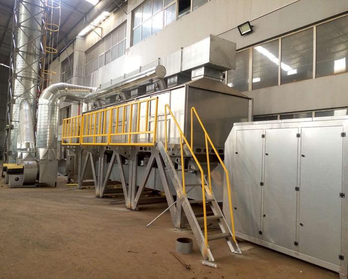 活性炭催化燃烧环保型项目