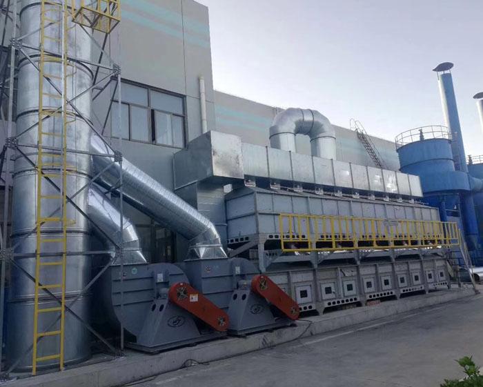 活性炭催化燃烧装置