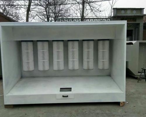 环保型脉冲式塑粉末回收柜