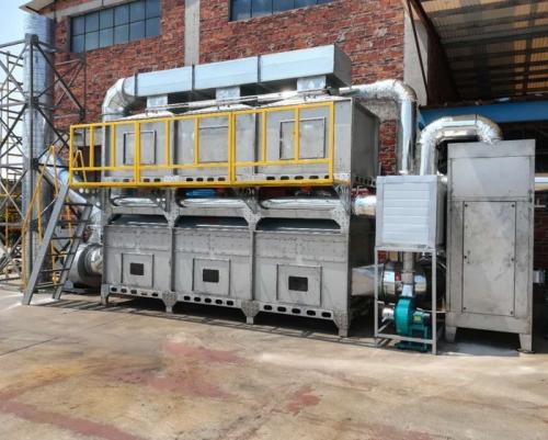 工业废气催化燃烧装置